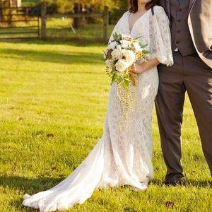 BHLDN Tres Chic Wedding Dress